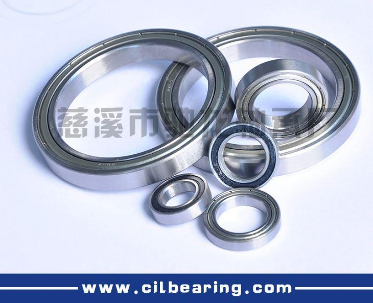 68 series deep groove ball bearings